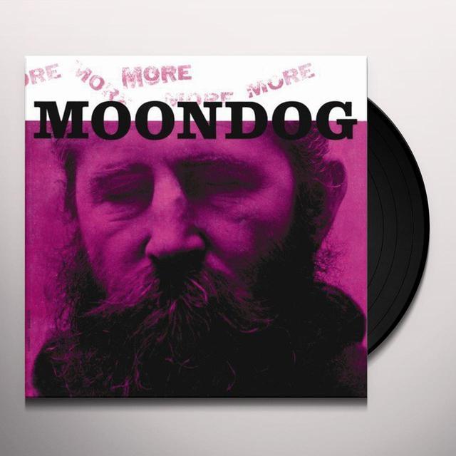 MORE MOONDOG Vinyl Record - 180 Gram Pressing