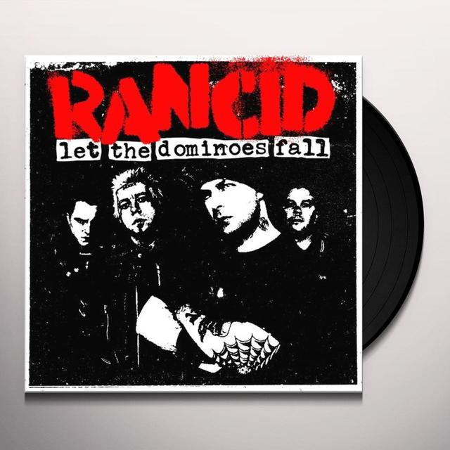Rancid LET THE DOMINOES FALL Vinyl Record