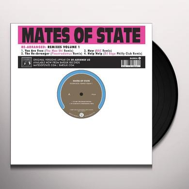 Mates Of State RE-ARRANGED: REMIXES 1 Vinyl Record