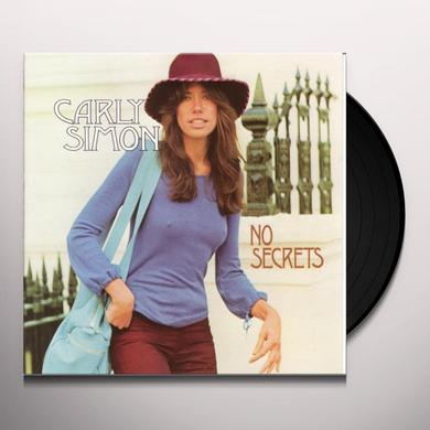 Carly Simon NO SECRETS Vinyl Record