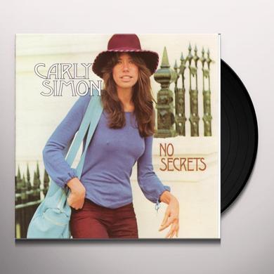 Carly Simon NO SECRETS Vinyl Record
