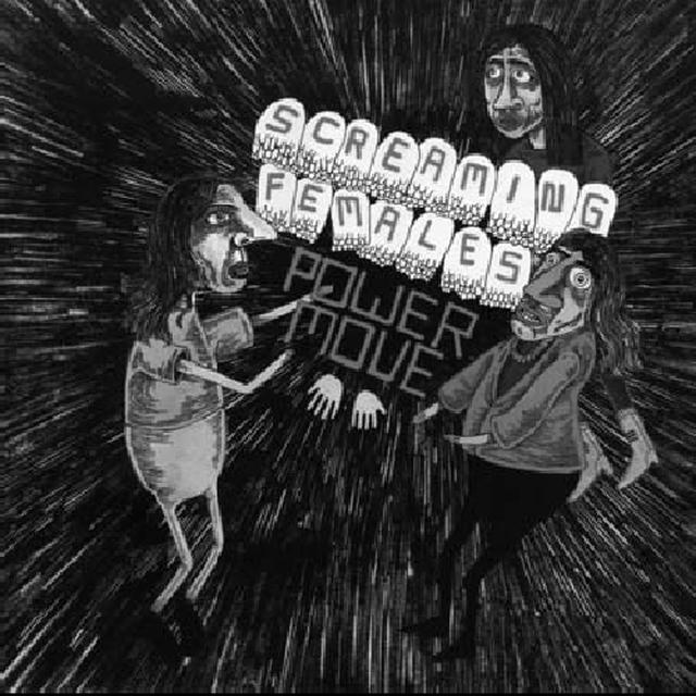 Screaming Females POWER MOVE Vinyl Record - Digital Download Included