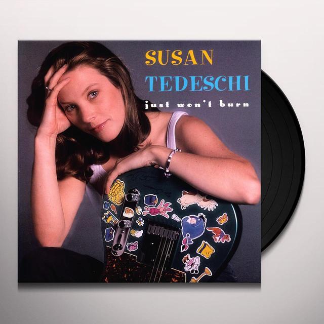 Susan Tedeschi JUST WON'T BURN Vinyl Record - 180 Gram Pressing