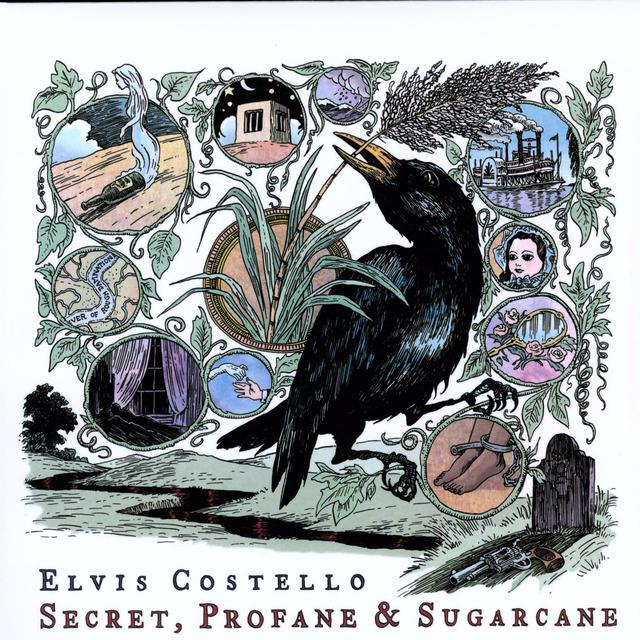 Elvis Costello SECRET PROFANE & SUGARCANE Vinyl Record