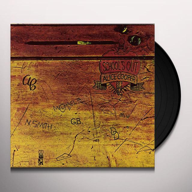 Alice Cooper SCHOOL'S OUT Vinyl Record