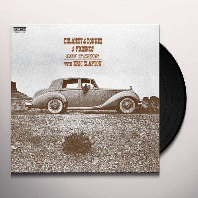 Delaney & Bonnie ON TOUR WITH ERIC CLAPTON Vinyl Record - 180 Gram Pressing