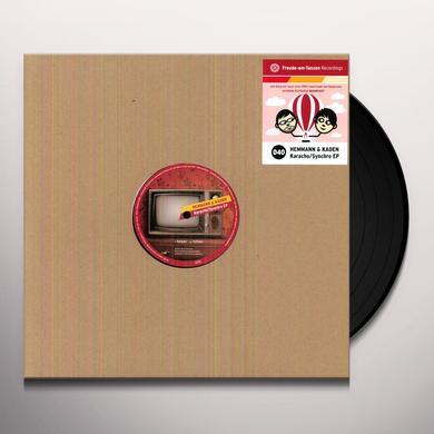 Hemmann & Kaden KARACHO / SYNCHRO (EP) Vinyl Record