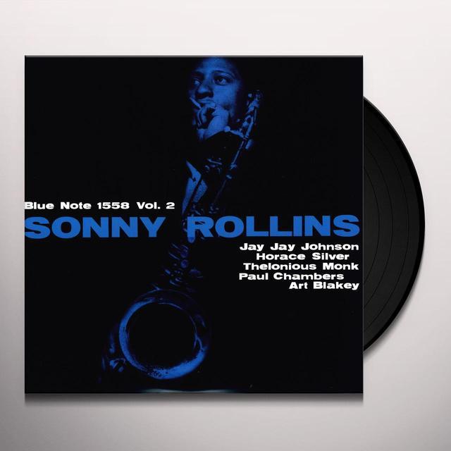 Sonny Rollins VOLUME 2 Vinyl Record - 180 Gram Pressing