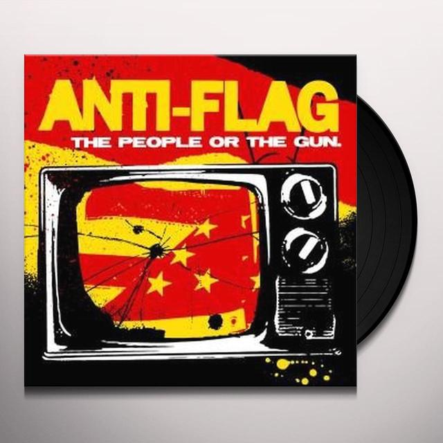 Anti-Flag PEOPLE OR THE GUN Vinyl Record - Digital Download Included