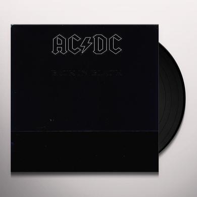 AC/DC BACK IN BLACK  (GER) Vinyl Record - 180 Gram Pressing