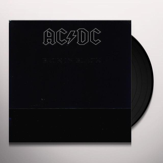 AC/DC BACK IN BLACK  (GER) Vinyl Record - 180 Gram Pressing