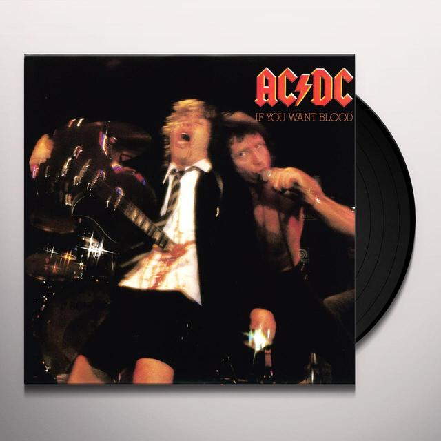 AC/DC IF YOU WANT BLOOD Vinyl Record - Holland Import