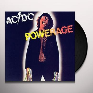 AC/DC POWERAGE Vinyl Record - 180 Gram Pressing, Holland Import
