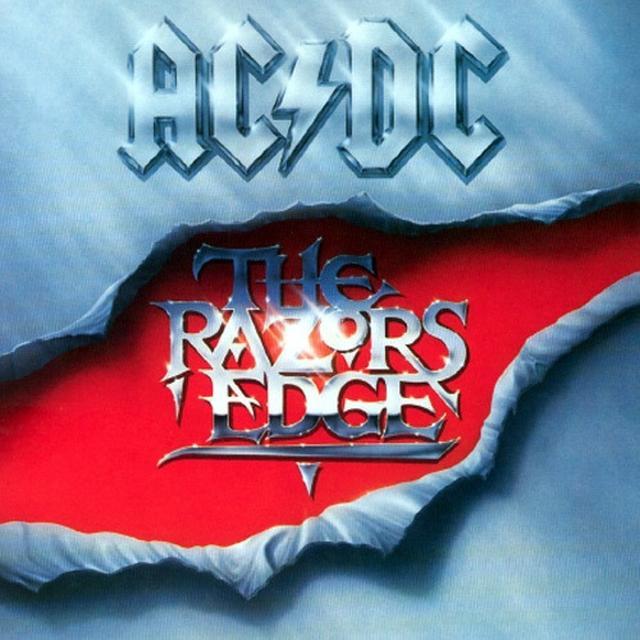 AC/DC RAZORS EDGE Vinyl Record - 180 Gram Pressing, Holland Import