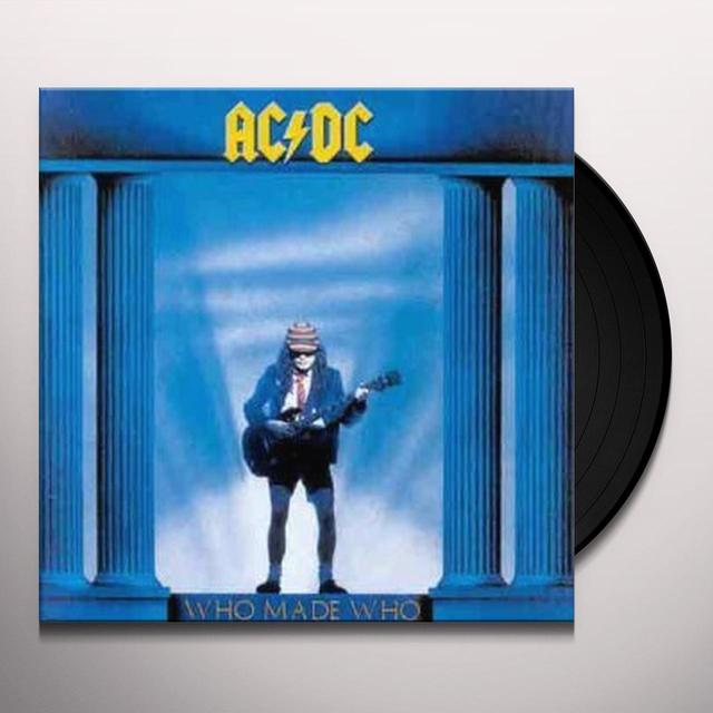 AC/DC WHO MADE WHO Vinyl Record - 180 Gram Pressing, UK Import