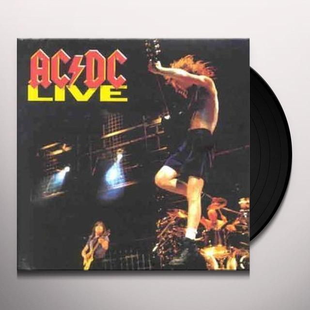 AC/DC LIVE  (GER) Vinyl Record - 180 Gram Pressing