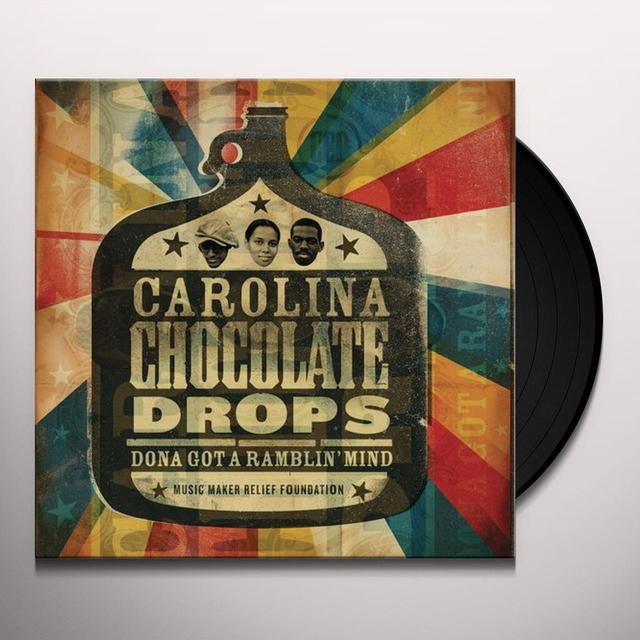 Carolina Chocolate Drops DONA GOT A RAMBLIN MIND Vinyl Record