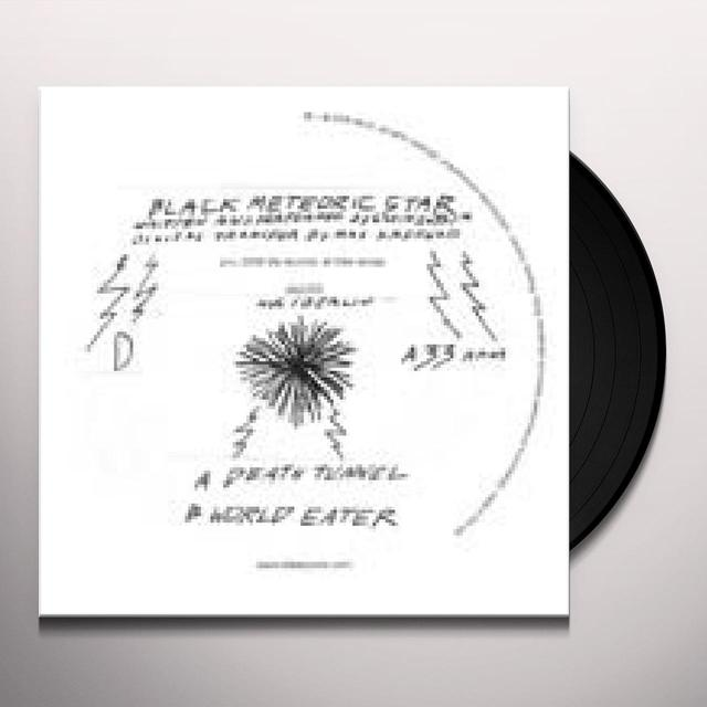 Black Meteoric Star DEATH TUNNEL Vinyl Record