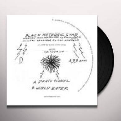 Black Meteoric Star DEATH TUNNEL Vinyl Record