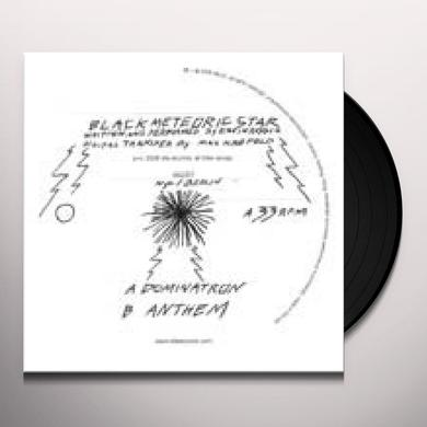 Black Meteoric Star DOMINATRON Vinyl Record