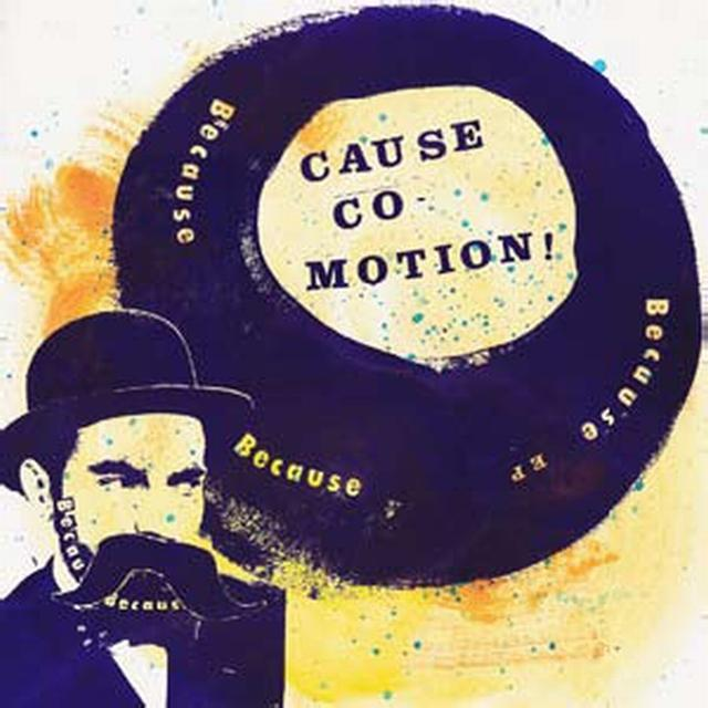 Cause Co-Motion BECAUSE BECAUSE BECAUSE Vinyl Record