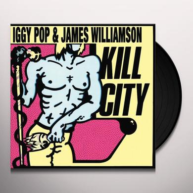 Iggy Pop & James Williamson KILL CITY Vinyl Record - Limited Edition