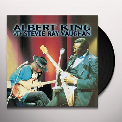 Albert King and Stevie Ray Vaughan IN SESSION Vinyl Record - 180 Gram Pressing