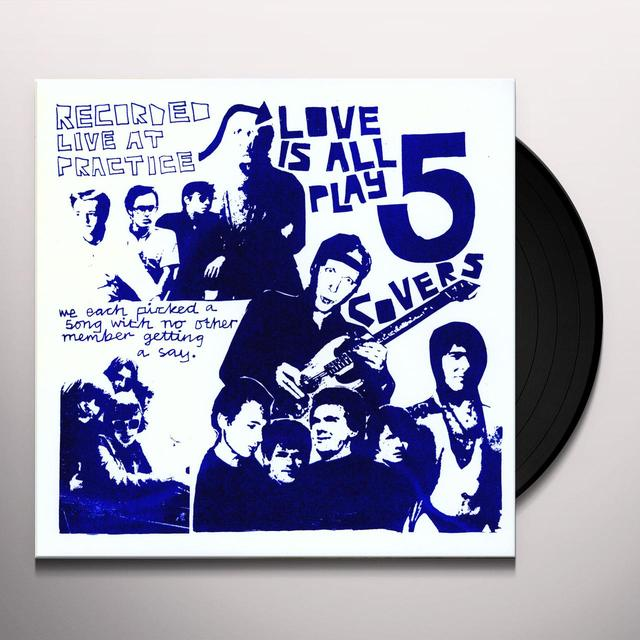 Love Is All COVERS (EP) Vinyl Record