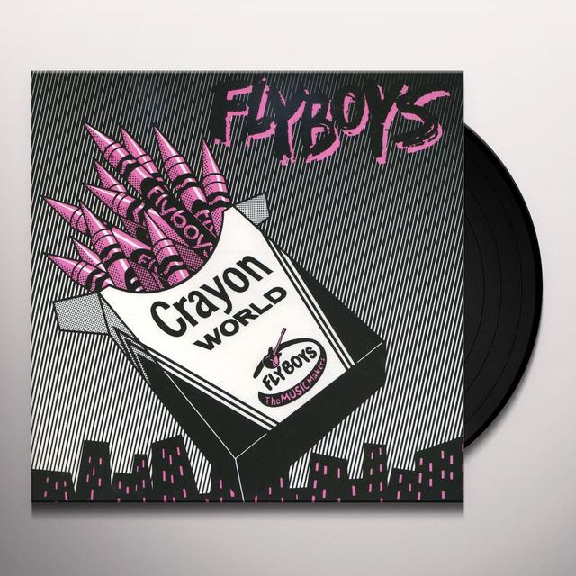 Flyboys CRAYON WORLD / SQUARE CITY Vinyl Record - Limited Edition