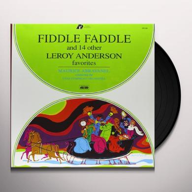 Maurice Abravanel FIDDLE FADDLE & 14 OTHER LEROY ANDERSON FAVORITES Vinyl Record