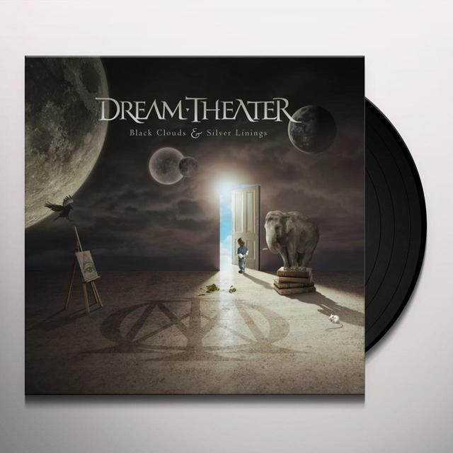 Dream Theater BLACK CLOUDS & SILVER LININGS Vinyl Record - 180 Gram Pressing