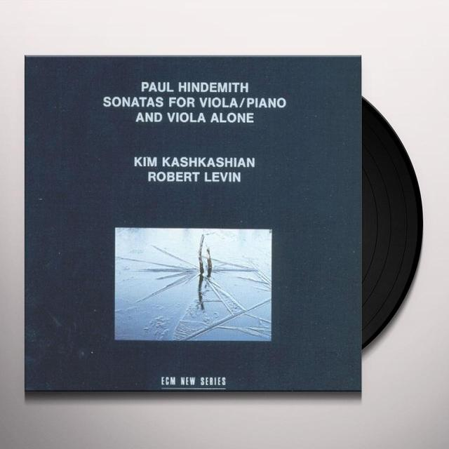 Hindemith / Kashkashian / Levin SONATAS FOR VIOLA & PIANO Vinyl Record - Spain Import
