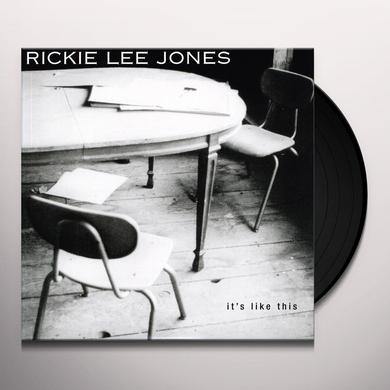 Rickie Lee Jones IT'S LIKE THIS Vinyl Record