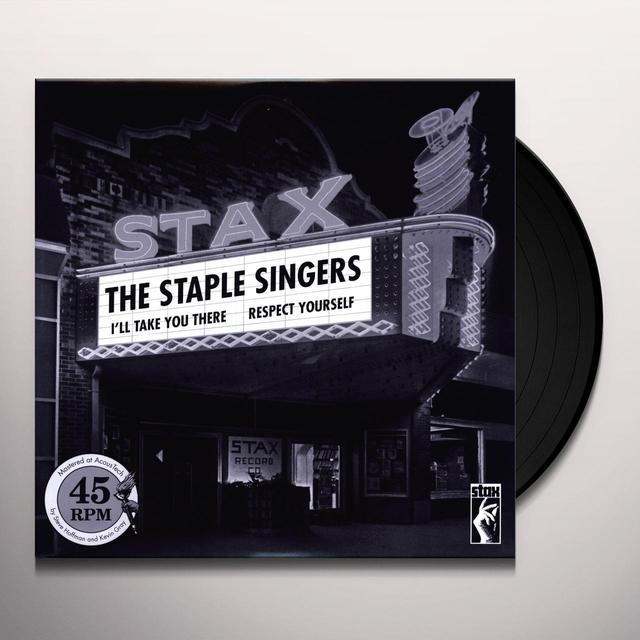 The Staple Singers RESPECT YOURSELF & I'LL TAKE YOU THERE Vinyl Record