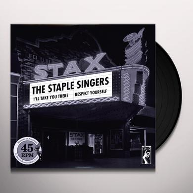 The Staple Singers RESPECT YOURSELF & I'LL TAKE YOU THERE Vinyl Record - 180 Gram Pressing