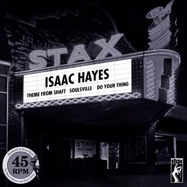 Isaac Hayes THEME FROM SHAFT & SOULSVILLE & DO YOUR THING Vinyl Record