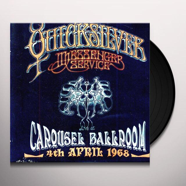 Quicksilver Messenger Service LIVE AT THE CAROUSEL BALLROOM S FRANCISCO 1968 Vinyl Record