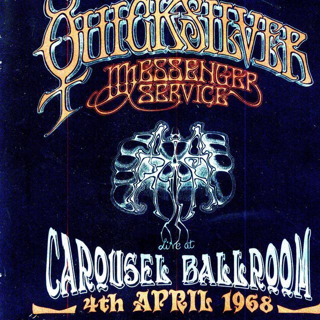 Quicksilver Messenger Service LIVE AT THE CAROUSEL BALLROOM S FRANCISCO 1968 Vinyl Record