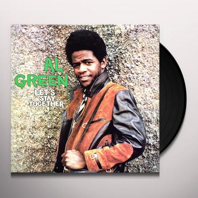 Al Green LET'S STAY TOGETHER Vinyl Record - 180 Gram Pressing