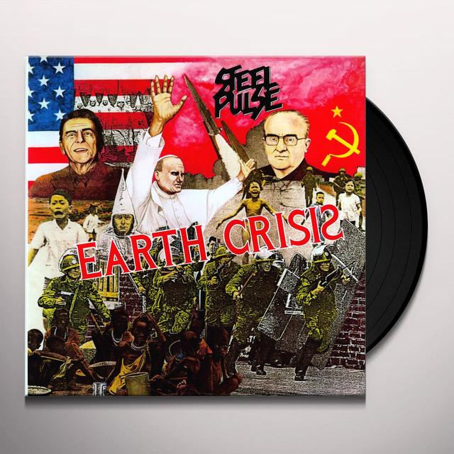 Steel Pulse EARTH CRISIS Vinyl Record