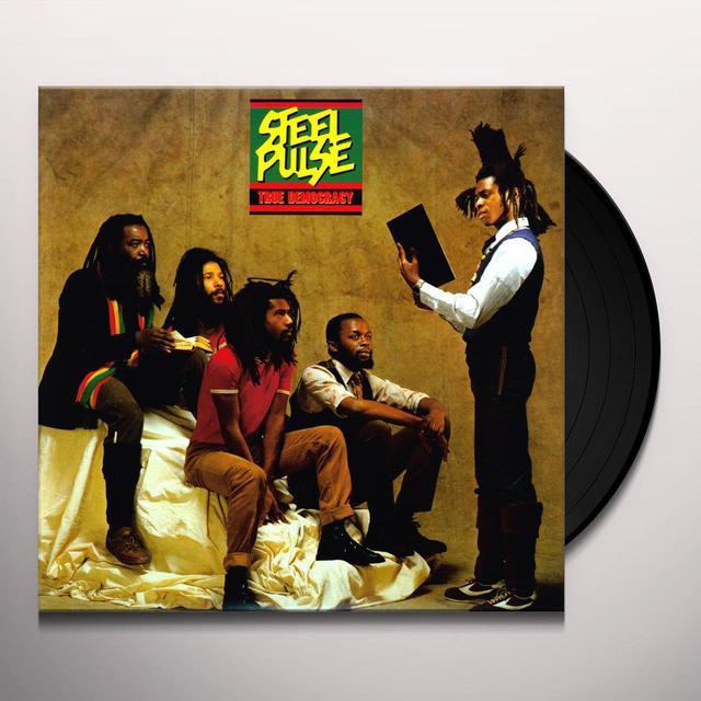Steel Pulse TRUE DEMOCRACY Vinyl Record