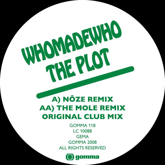 Whomadewho PLOT (NOZE & MOLE REMIXES) Vinyl Record