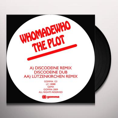 Whomadewho PLOT 2 (DISCODEINE & LUTZENKIRCHEN REMIXES) Vinyl Record