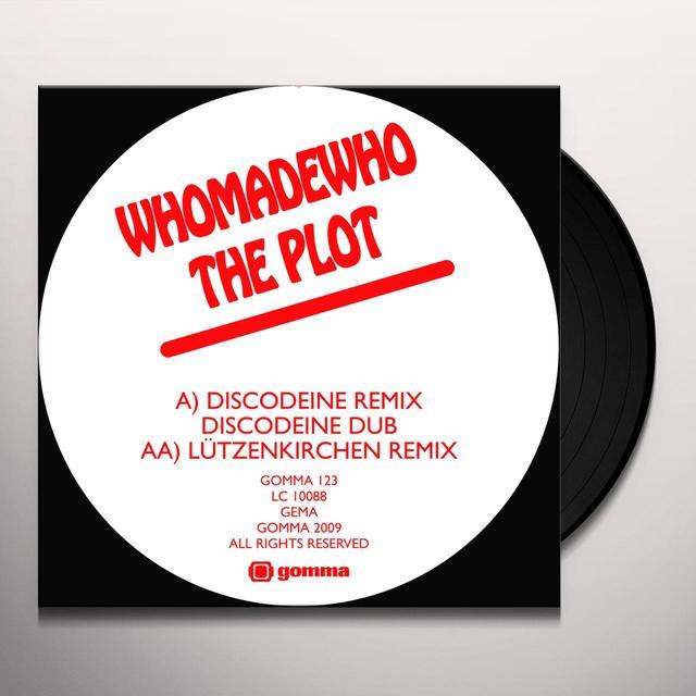 Whomadewho PLOT 2 (DISCODEINE & LUTZENKIRCHEN REMIXES) Vinyl Record - Remixes