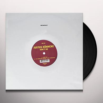 Justus Köhncke DON'T GO Vinyl Record