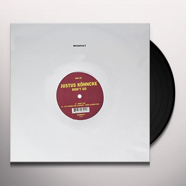 Justus Köhncke DON'T GO (EP) Vinyl Record