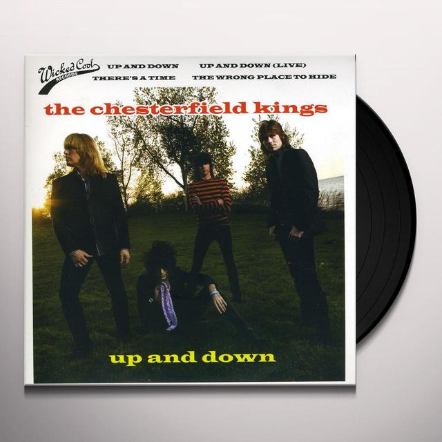Chesterfield Kings UP & DOWN Vinyl Record