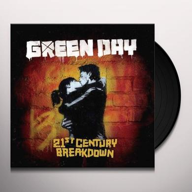 Green Day 21ST CENTURY BREAKDOWN Vinyl Record - 180 Gram Pressing