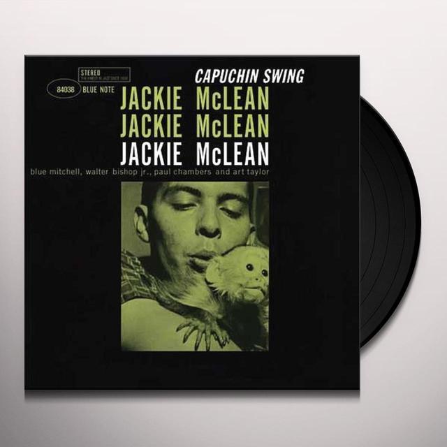 Jackie Mclean CAPUCHIN SWING Vinyl Record - 180 Gram Pressing