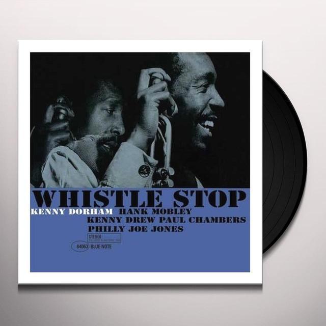 Kenny Dorham WHISTLE STOP Vinyl Record